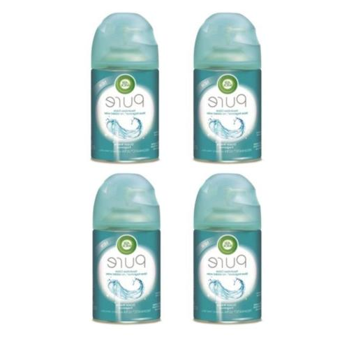 Air Wick Pure Freshmatic 4 Refills Automatic Spray, Ocean Br