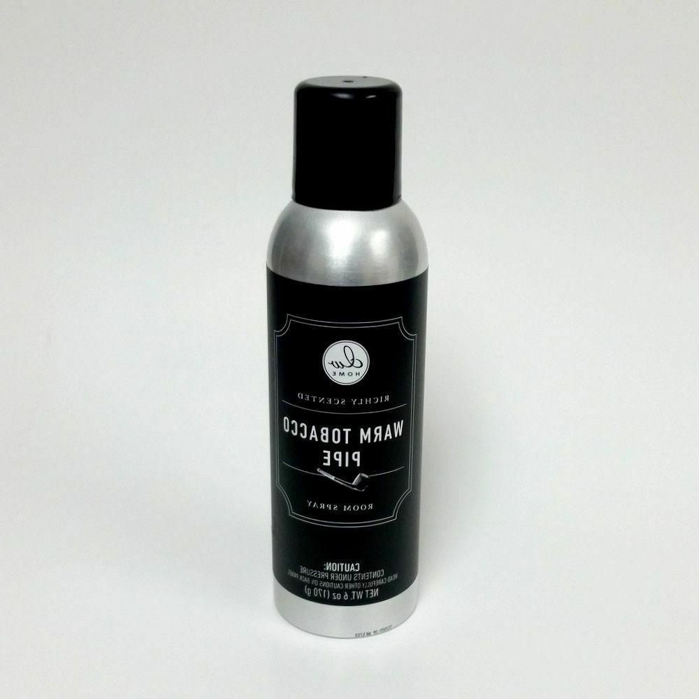 richly scented warm tobacco pipe room spray