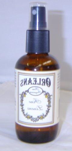 "Orleans Home Fragrance ""Fine Linens"" 4 oz room spray"