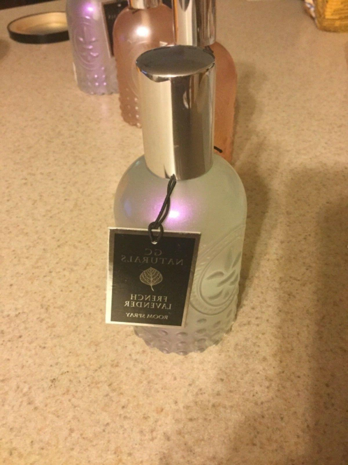 GC Naturals Room Fragrance Spray French Lavender New