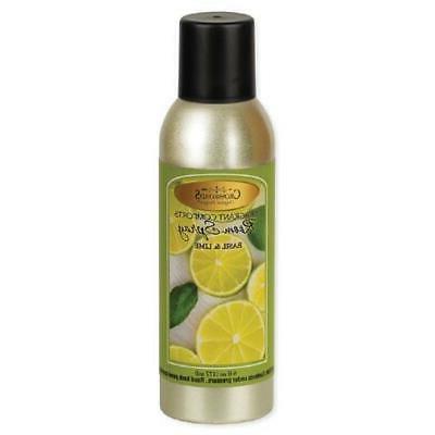 room spray 6 oz basil and lime
