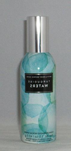 Bath & Body Works Room Perfume Spray Turquoise Waters 2017
