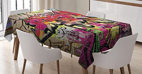 rustic home decor tablecloth