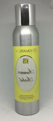 Aromatique Summer Sorbet 3 Oz Decorator Room Fragrance Spray
