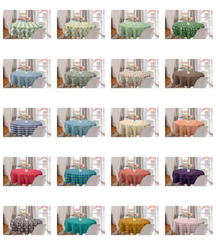Ambesonne Tablecloth Cover Dining