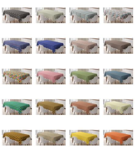 surreal form tablecloth table cover for dining