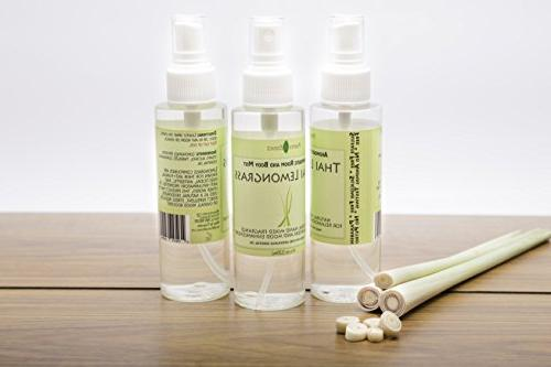 Positive Thai Linen Room - Aromatic Mist Essential – Bathroom Odor