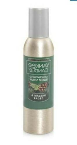 Yankee Candle Balsam & Cedar Concentrated Room Spray, Festiv
