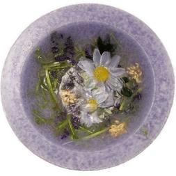 Lavender Chamomile Wax Pottery Vessel Flameless Bowl Habersh