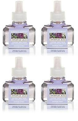 Yankee Candle 4 Pack Lilac Blossom ScentPlug Refill 0.6 Oz.