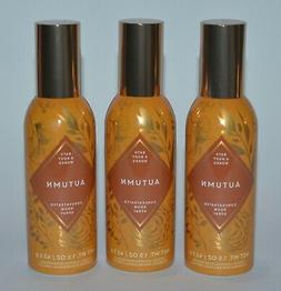 LOT OF 3 BATH & BODY WORKS AUTUMN CONCENTRATED ROOM SPRAY PE