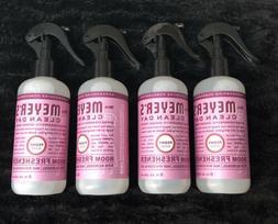 Lot Of 4 - Mrs. Meyer's Clean Day ROOM FRESHENER Spray PEONY