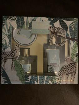 Luxury Fragrance 3pc Gift Set CEDAR & PINE Room Spray Candle