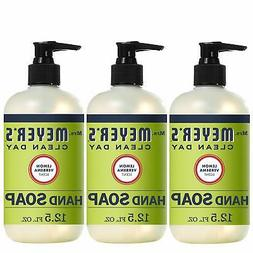 Mrs. Meyer's Clean Day Liquid Hand Soap Lemon Verbena Scen