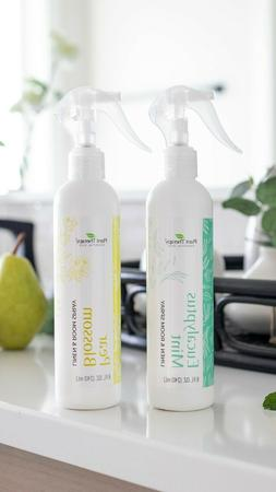 natural linen and room spray powered by