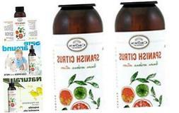 Natural Room Deodorizer Spray Air Freshener  | Lemon Citrus