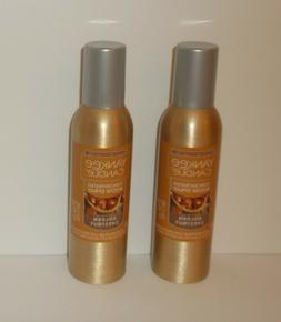 NEW YANKEE CANDLE GOLDEN CHESTNUT CONCENTRATED ROOM SPRAY X