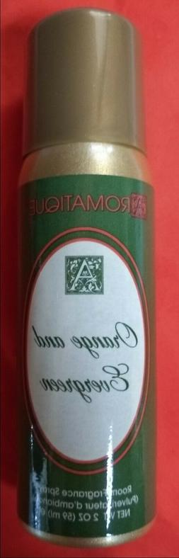 Aromatique Orange and Evergreen 2 oz Room Fragrance Spray FR