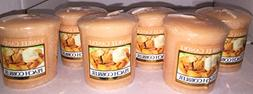 Yankee Candle Lot of 6 Peach Cobbler Votive Candles