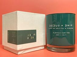 Paddywax Pine + Suede Soy Wax Candle 7oz Free Priority