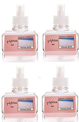 Yankee Candle 4 Pack Pink Sands ScentPlug Refill 0.6 Oz.