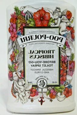 Poo-Pourri Tropical Hibiscus 4oz Bottle Bath Toilet Before-Y