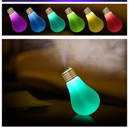 Portable Travel Cool Mist Air Humidifier USB Night Silent Sp