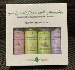 positive essence aromatic linen and room spray