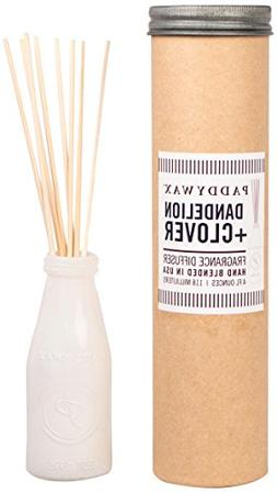 Paddywax Relish Collection Reed Oil Diffuser Set, Dandelion
