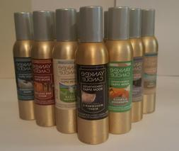 YANKEE CANDLE ROOM SPRAYS -- YOU CHOOSE - DISCOUNT ON 2 OR M