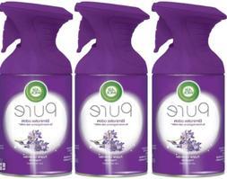Set/3 Air Wick Pure~PURPLE LAVENDER~Room Spray Freshener Mis