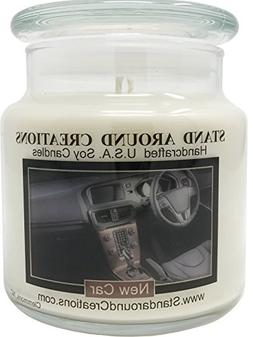 Premium 100% All Natural Soy Apothecary Candle -16 oz.- New