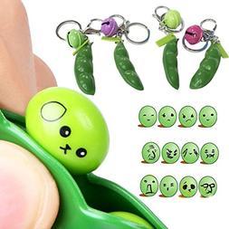 Yeefant Soybean Toy Bells Cute Bag Hanging Decor Gift Pendan