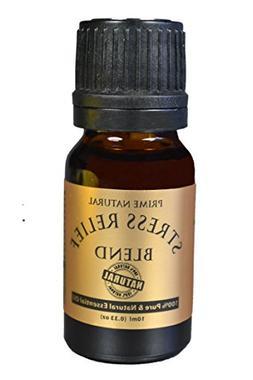 Stress Relief Essential Oil Blend 10ml - 100% Natural Pure U
