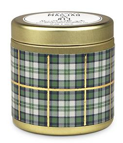 Paddywax Tartan Holiday Collection Scented Travel Tin Candle