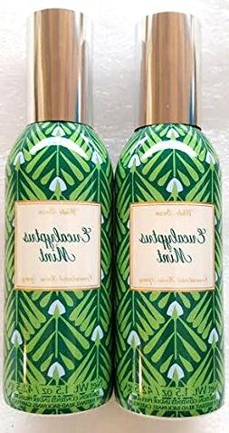 Two Bath & Body Works Eucalyptus Mint Concentrated Room Spra