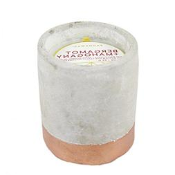 Urban Collection Soy Wax Candle In Concrete Pot, 3.5-Ounce,