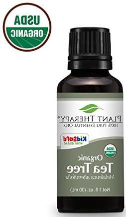 Plant Therapy Tea Tree Organic Essential Oil   100% Pure, US
