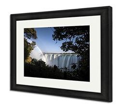 Ashley Framed Prints Victoria Waterfall, Wall Art Home Decor