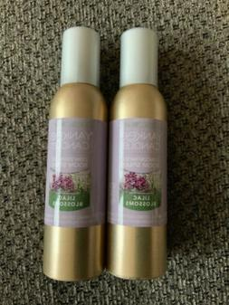 Yanke Candle Concentrated Room Spray 2 Pack Of Lilac Blossom
